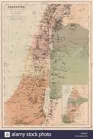 Map Of Israel In Jesus Time Map Of Palestine The Time Of Jesus Christ And The Apostles The