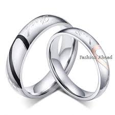 love rings designs images Fashion love heart couple ring for women men latest wedding ring jpg