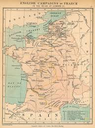 Europe Map 1500 by History Map Archive Europe F