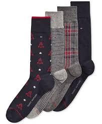 mens christmas socks hilfiger men s christmas tree socks 4 pack socks