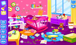 Cleaning Games For Girls Baby Room Clean Up Android Apps On Google Play