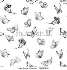 abstract pattern butterfly watercolor pattern butterflies abstract butterfly flying stock