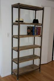 hand made acton metal u0026 wood bookcase by gbc designs custommade com