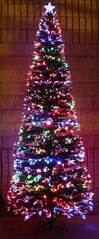 small fiber optic tree target decore