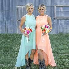 country dresses for weddings 2016 cheap orange country bridesmaid dresses for wedding 100