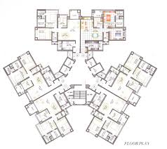 floor plans for flats high rise residential floor plan google search apartment