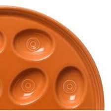 fiestaware egg plate egg plate in black homer laughlin china egg