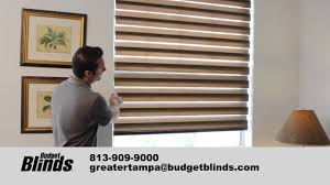 window blinds illusions shades by budget blinds tampa youtube