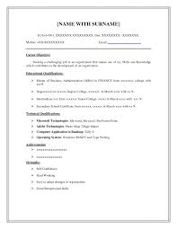 Basic Resume Template Pdf Resume Template Simple Examples For Jobs Pdf With Regard To 79