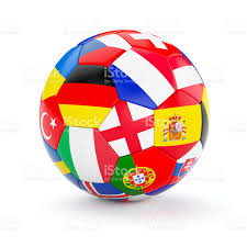 Europe Flags Soccer Football Ball With Europe Countries Flags Stock Photo Istock