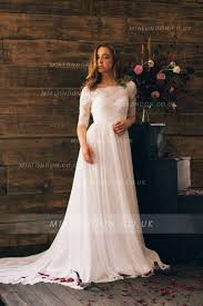 amazing bateau neckline wedding dresses and bridal gowns with
