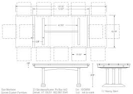 standard party table size 12 person dining table size large size of person dining table and