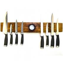 Kitchen Knives Holder Reclaimed Wood Knife Blocks Rustic Wall Co