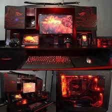 Gamer Computer Desk Best Custom Pc Gaming Computer Desk Ideas Gaming Pinterest