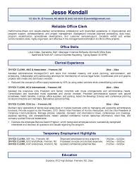 Sample Administrative Resume by 100 Sample Cover Letter For Clerk Position Download Hospitality