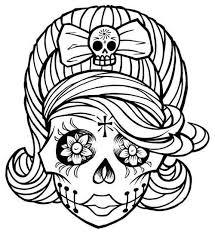 sugar skull tattoos that i clipart best clipart