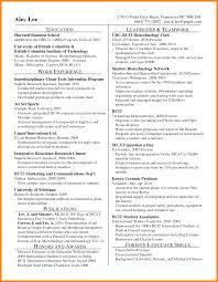 Harvard Resume Template 3 Harvard Resumes Character Refence