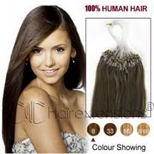 24 inch extensions inch ash brown 8 micro loop hair extensions
