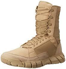 oakley light assault boot amazon com oakley men s light assault military boot desert 14 m