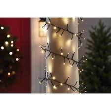 led garland christmas lights member s mark 18 shimmering led garland lights warm white dome