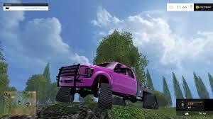Ford Diesel Utility Truck - f350 ford diesel tracked pink car farming simulator 2017 2015