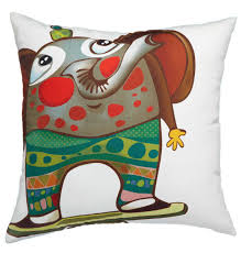 decor children style elephant pillow for home accessories ideas