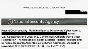 top secret nsa report details russian hacking effort days before