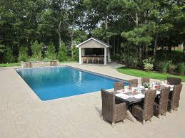 Pool Houses by Custom Carpentry Cabanas U0026 Pool Houses Long Island