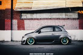 stanced fiat hella flushed