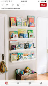 Kid Bookshelves by Freckles In April A Nursery Snippet Forward Facing Bookcase