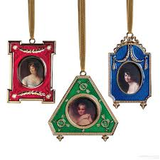russian imperial frame christmas ornaments from the metropolitan