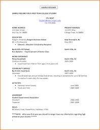 Sample Resume For Fresh College Graduate Graduate College Graduate Resume Sample