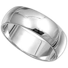 silver wedding band wedding rings men and women 2 polyvore