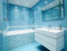 cool 20 blue tile bathroom inspiration design of best 25 blue