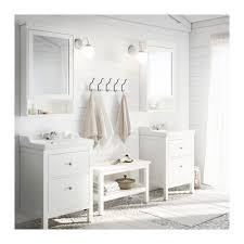 hemnes rättviken mobile per lavabo con 2 cassetti bianco