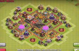 layout design th7 th6 th7 farming and war base layouts with new air defenses best