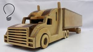 wooden truck toy wooden truck youtube