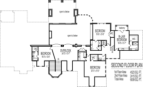 dream house floor plans blueprints 2 story 5 bedroom large large