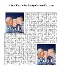 4 best images of printable activities for adults free printable