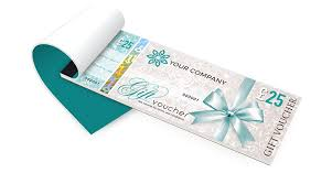 gift certificate printing gift voucher printing secure personalised gift vouchers
