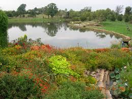 Overland Park Botanical Garden Pond At The Overland Park Arboretum Botanical Gardens Around