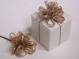 wedding favors bulk 36 pcs pre made ribbon bows for wedding party favors decorations