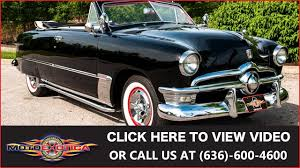 ford convertible 1950 ford custom convertible for sale youtube