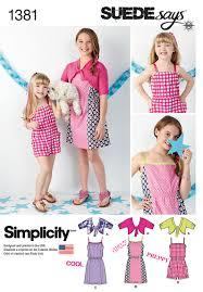 simplicity 1381 child u0026 dress romper knit cardigan by suedesays