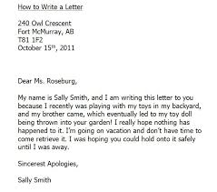 how to write a business letter the best letter sample