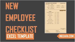 Pto Spreadsheet Template New Employee Checklist Free Excel Template Tour Youtube