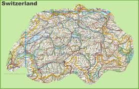 Map Of Switzerland And Germany by Switzerland Maps Maps Of Switzerland