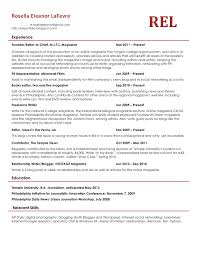Resume Good Examples by Good Example Of Resume