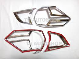 nissan accessories for x trail chrome rear tail light lamp cover trim for new nissan x trail x
