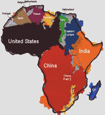True Size World Map by Tara Meister Tnmeister Twitter